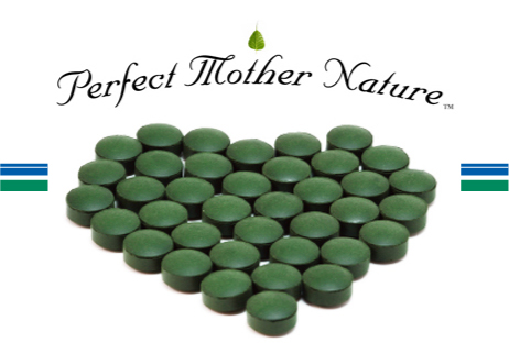 Perfect Mother Nature Certified Organic Chlorella Tablets