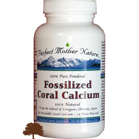 Fossilized Coral Calcium Image