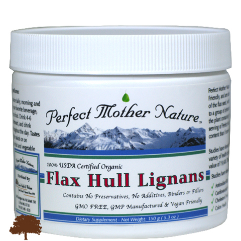 100% Organic Flax Hull Lignans Image
