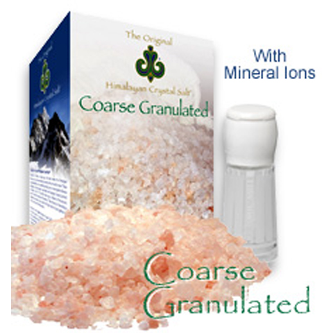 Coarse Granulated Himalayan Crystal Salt  Image