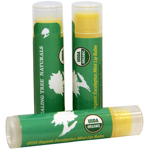 Organic Eucalyptus Mint Lip Balm Image