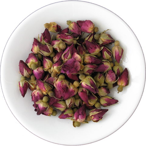Red Rosebud Image